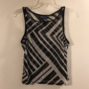 Anne Cole mesh tank top cover up